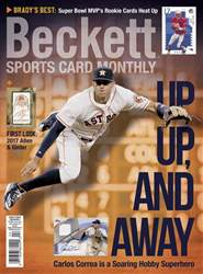 Sports Card Monthly issue April 2017