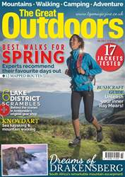 TGO - The Great Outdoors Magazine issue Spring 2017