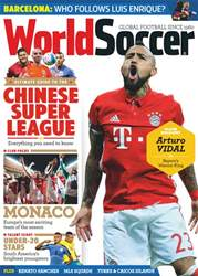 World Soccer issue April 2017