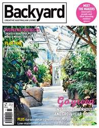 Backyard issue Issue#14.6 2017