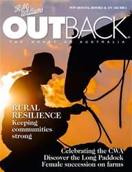 OUTBACK Magazine issue OUTBACK Magazine