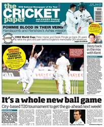 The Cricket Paper issue The Cricket Paper