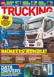 Trucking Magazine issue Trucking Magazine