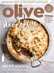Olive Magazine issue April 2017