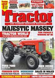 Tractor & Farming Heritage Magazine issue May 2017