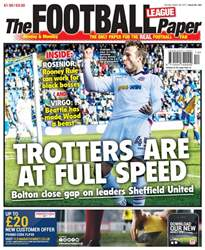 The Football League Paper issue The Football League Paper