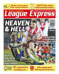 League Express issue 3063