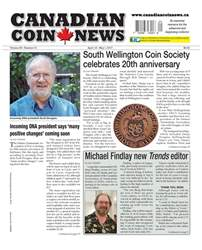 Canadian Coin News issue V55#01 - April 18
