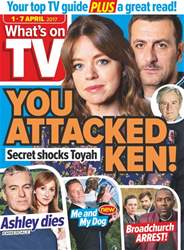 What's on TV issue 1st April 2017
