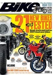 Bike issue May 2017