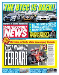 Motorsport News issue 29th March 2017