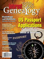 Internet Genealogy issue Apr-May 2017