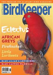 Australian Birdkeeper Magazine issue BirdKeeper Vol 30 Issue 8
