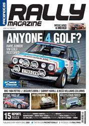 Pacenotes Rally magazine issue Issue 154 - April 2017
