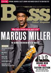 Bass Guitar issue April 2017
