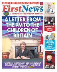 First News - Issue 564 issue First News - Issue 564