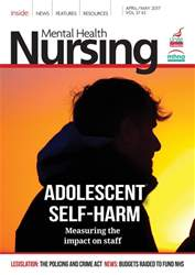 Mental Health Nursing issue April/May 2017