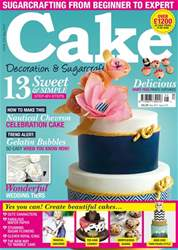 Cake Decoration & Sugarcraft Magazine issue May-17