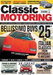 Classic Motoring issue Classic Motoring