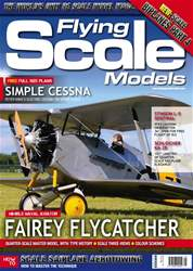 Flying Scale Models issue May 2017