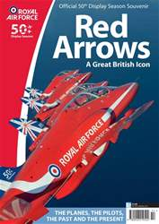 AirForces Monthly issue Red Arrows 50th