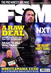 Fighting Spirit Magazine Magazine Cover