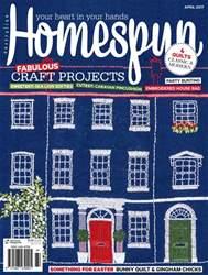 Homespun Magazine Cover