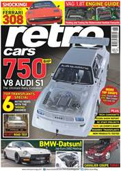 Retro Cars issue No. 109 750 BHP V8 Audi S1