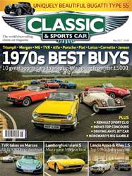 Classic & Sports Car issue May 2017