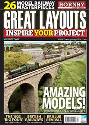Hornby Magazine issue Hornby Great Layouts