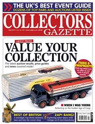 Collectors Gazette issue May 2017