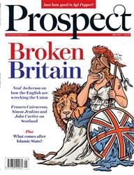 Prospect Magazine Magazine Cover