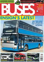 Buses Magazine issue  May 2017