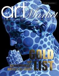 Art Market Magazine issue GOLD LIST - Top Contemporary Artists of Today