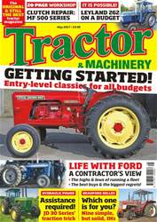 Tractor & Machinery issue Vol. 23 No. 7 Getting Started!