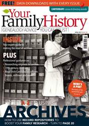 Your Family History issue April 2017