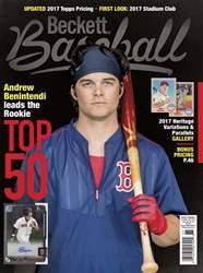 Beckett Baseball issue May 2017