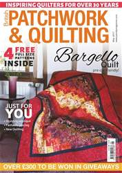Patchwork and Quilting issue May 2017