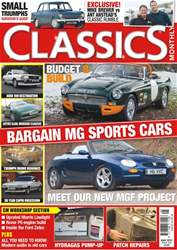Classics Monthly issue No. 255 Bargain MG Sports Cars