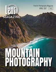 Lens Magazine issue #31 April 2017. Mountain Photography