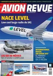 Avion Revue Internacional Latino issue Número 208