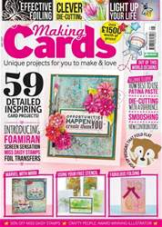 Making Cards issue May 2017