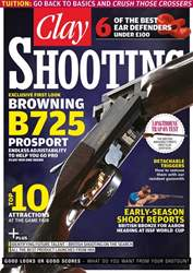 Clay Shooting issue May 2017