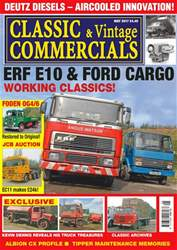 Classic & Vintage Commercials issue Vol. 22 No. 9 ERF E10 & Ford Cargo