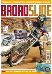 Classic Dirt Bike issue Broadslide