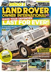 Land Rover Owner issue May 2017