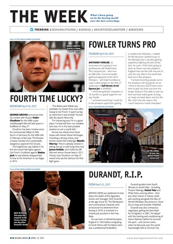 Boxing News Preview 8