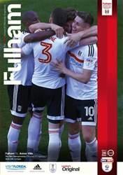 Fulham FC issue Fulham V Aston Villa