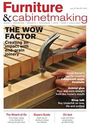 Furniture & Cabinetmaking issue May 2017