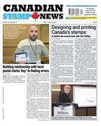 Canadian Stamp News issue V42#01 - May 2